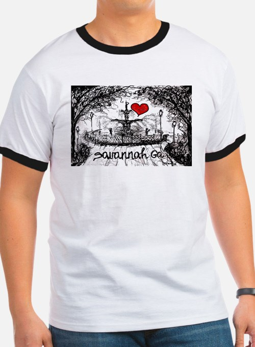I love savannah Ga T-Shirt