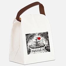 I love savannah Ga Canvas Lunch Bag