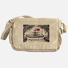 I love savannah Ga Messenger Bag
