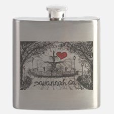 I love savannah Ga Flask
