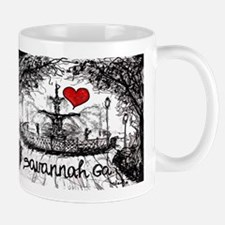 I love savannah Ga Mugs