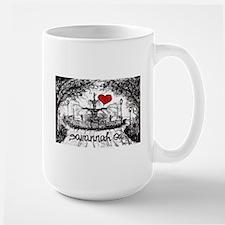 I love savannah Ga Mugs