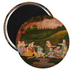 Floating Candles on the River Magnets (10 pack)