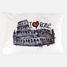 I love Rome Pillow Case