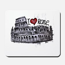 I love Rome Mousepad