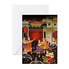 Mughal Harem Greeting Cards (Pk of 20)
