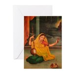 In Union With Krishna Greeting Cards (Pk of 10)
