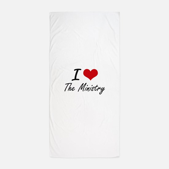 I love The Ministry Beach Towel