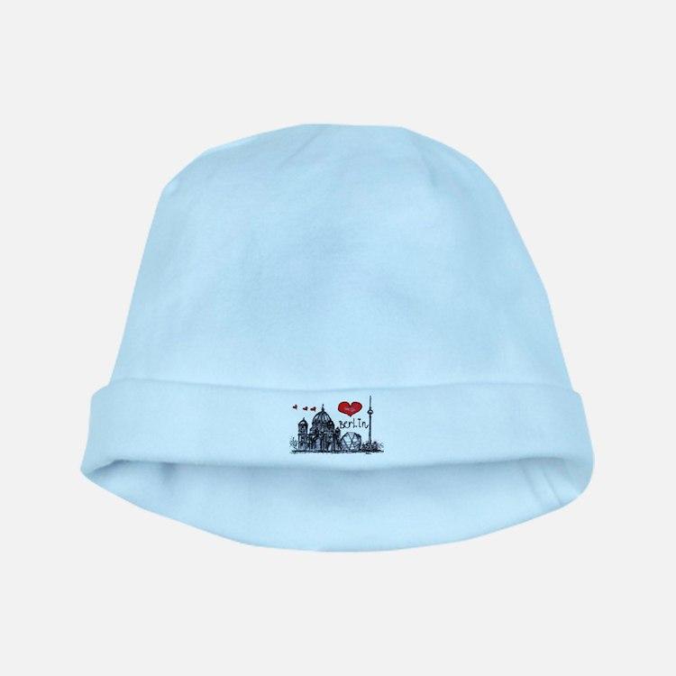 I love Berlin baby hat