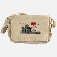I love Berlin Messenger Bag