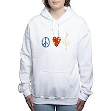 Unique Cleft Women's Hooded Sweatshirt
