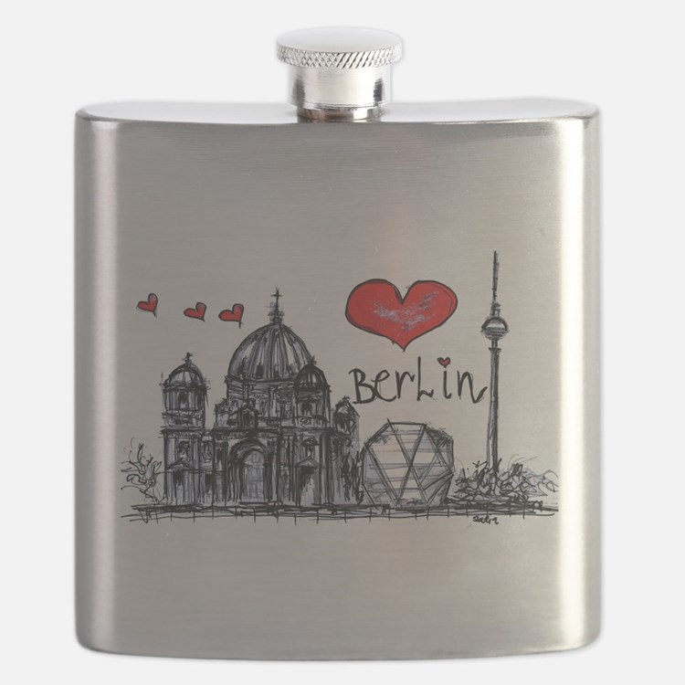 I love Berlin Flask