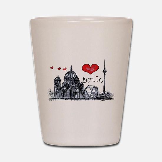 I love Berlin Shot Glass