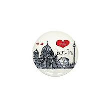 I love Berlin Mini Button