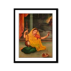 In Union With Krishna Framed Print