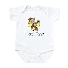 I Love Nana Infant Bodysuit
