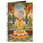 Krishna On Lotus Blossom Journal