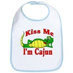 Kiss Me I am Cajun  Bib