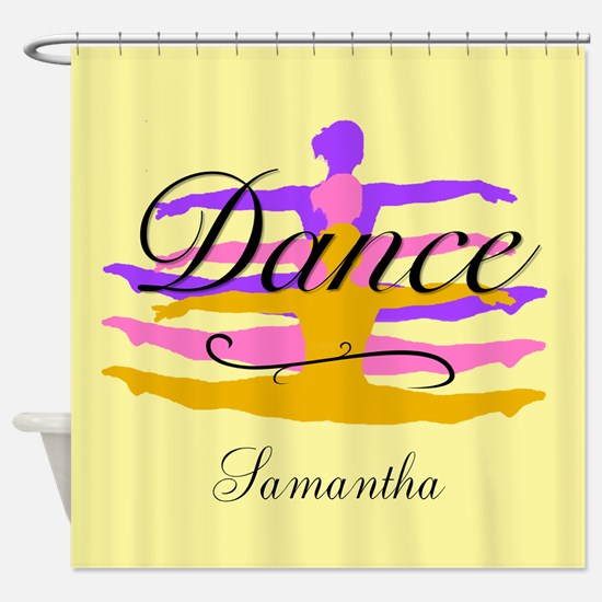 Dance In Purple Shower Curtain