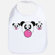 Panda Pop Bib