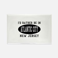 I'd Rather Be in Atlantic Cit Rectangle Magnet
