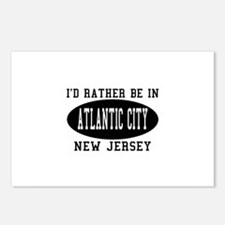 I'd Rather Be in Atlantic Cit Postcards (Package o