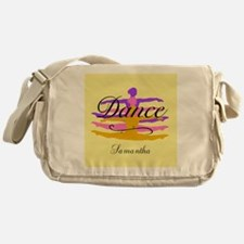 Yellow Dance Messenger Bag