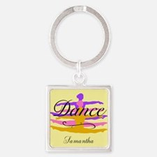 Yellow Dance Keychains