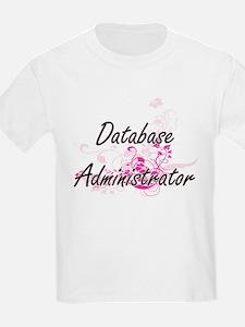 Database Administrator Artistic Job Design T-Shirt