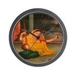 In Union With Krishna Wall Clock