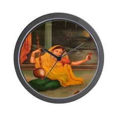 In Union With Krishna Wall Clock