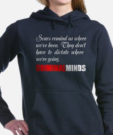 Cute Fbi Women's Hooded Sweatshirt