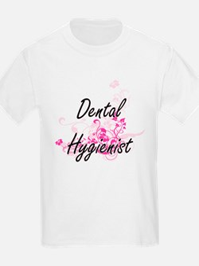 Dental Hygienist Artistic Job Design with T-Shirt