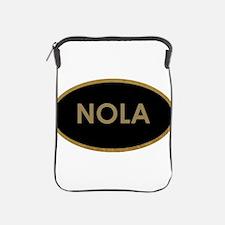 NOLA BLACK AND GOLD iPad Sleeve