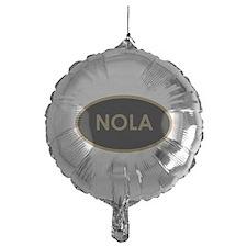 NOLA BLACK AND GOLD Balloon