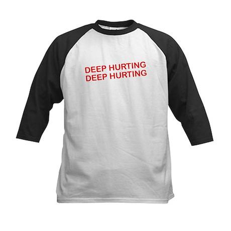 Deep Hurting Kids Baseball Jersey