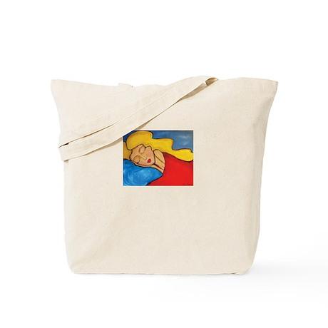 SLEEPING DIVA Tote Bag