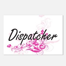 Dispatcher Artistic Job D Postcards (Package of 8)