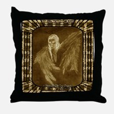 Glowing Angel Throw Pillow