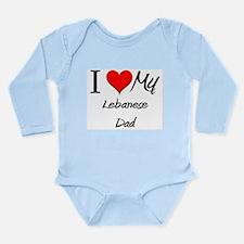 Unique Lebanese flag Long Sleeve Infant Bodysuit