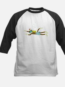 Sock Monkey Scuba Diver Tee