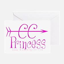 XC Princess Greeting Card