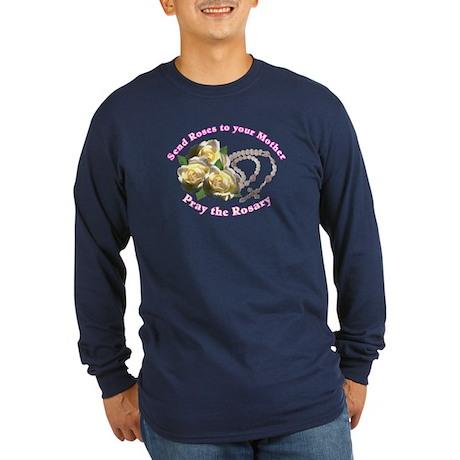 Friends of Mary Long Sleeve Dark T-Shirt
