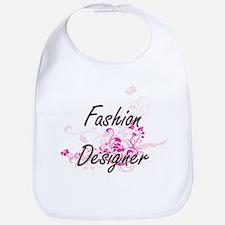Fashion Designer Artistic Job Design with Flow Bib