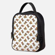 AUTUMN BEAR Neoprene Lunch Bag