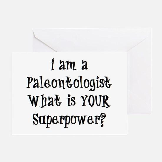 paleontologist Greeting Card
