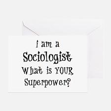 sociologist Greeting Card