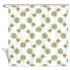 EASTER TOPIARY Shower Curtain