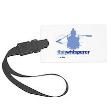 fishwhisperer Luggage Tag