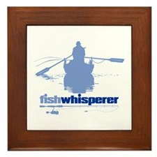 fishwhisperer Framed Tile